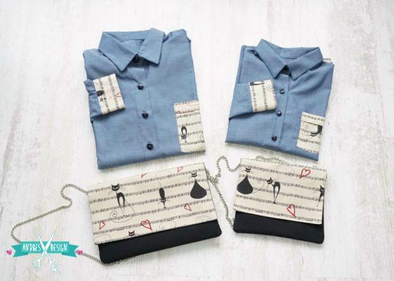 camasi-mama-si-fiica-albastre-cu-pisici