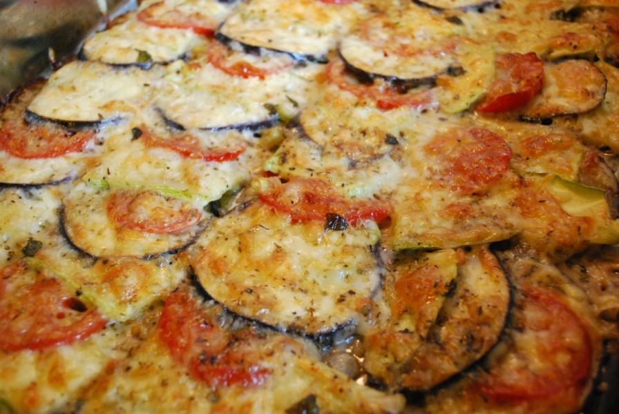 trio de legume cu mozzarella la cuptor 2