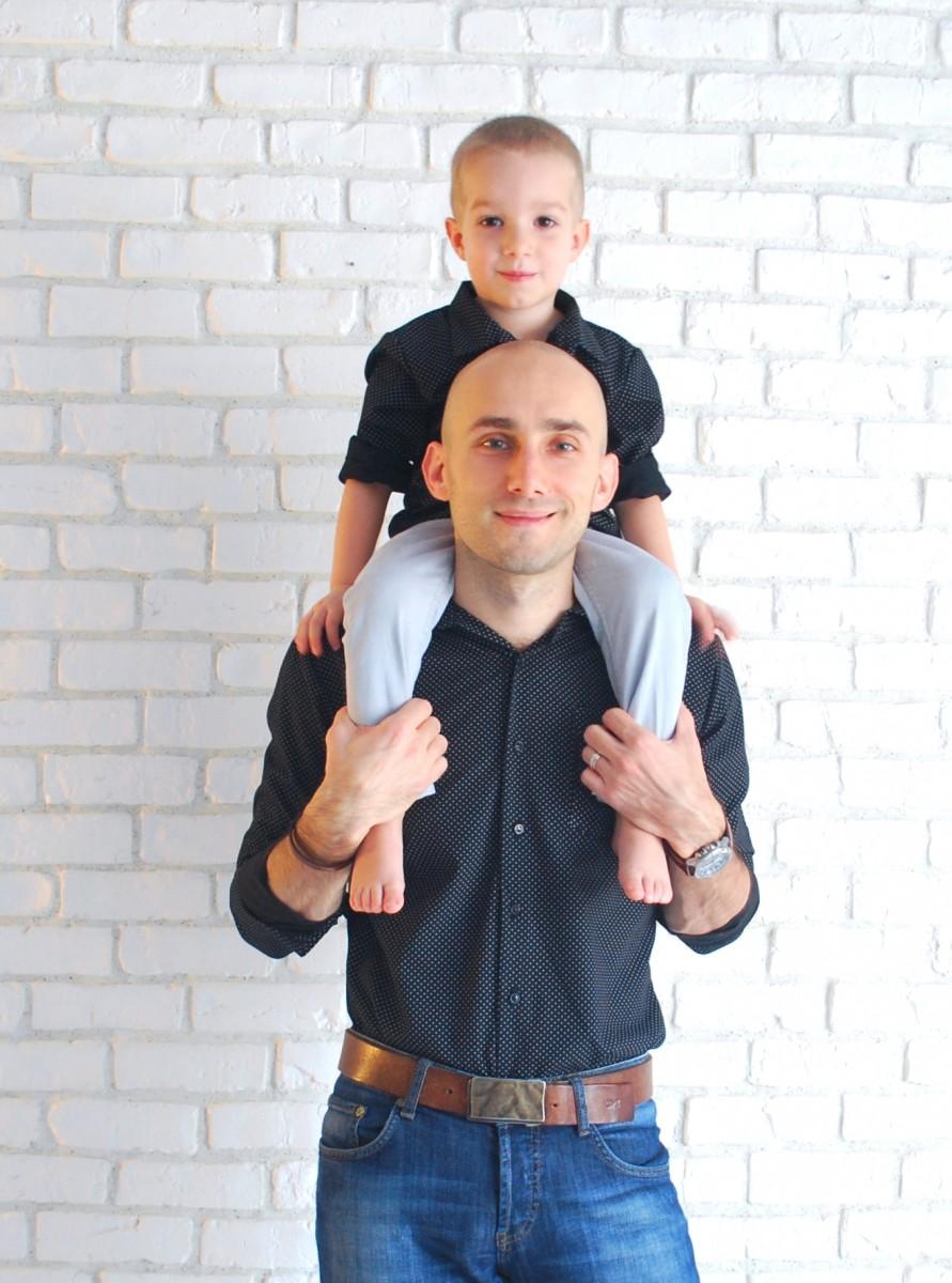 camasi negre maneca lunga - mama tata si copil 4