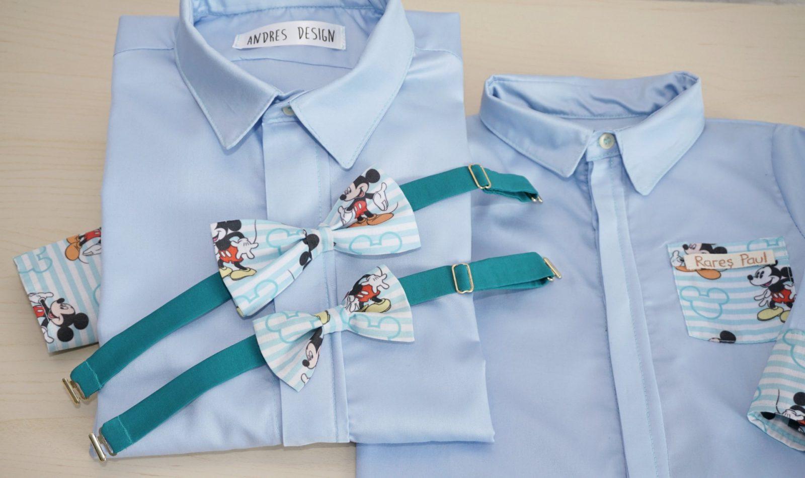 Papioane Tata si Fiu – Mickey Mouse