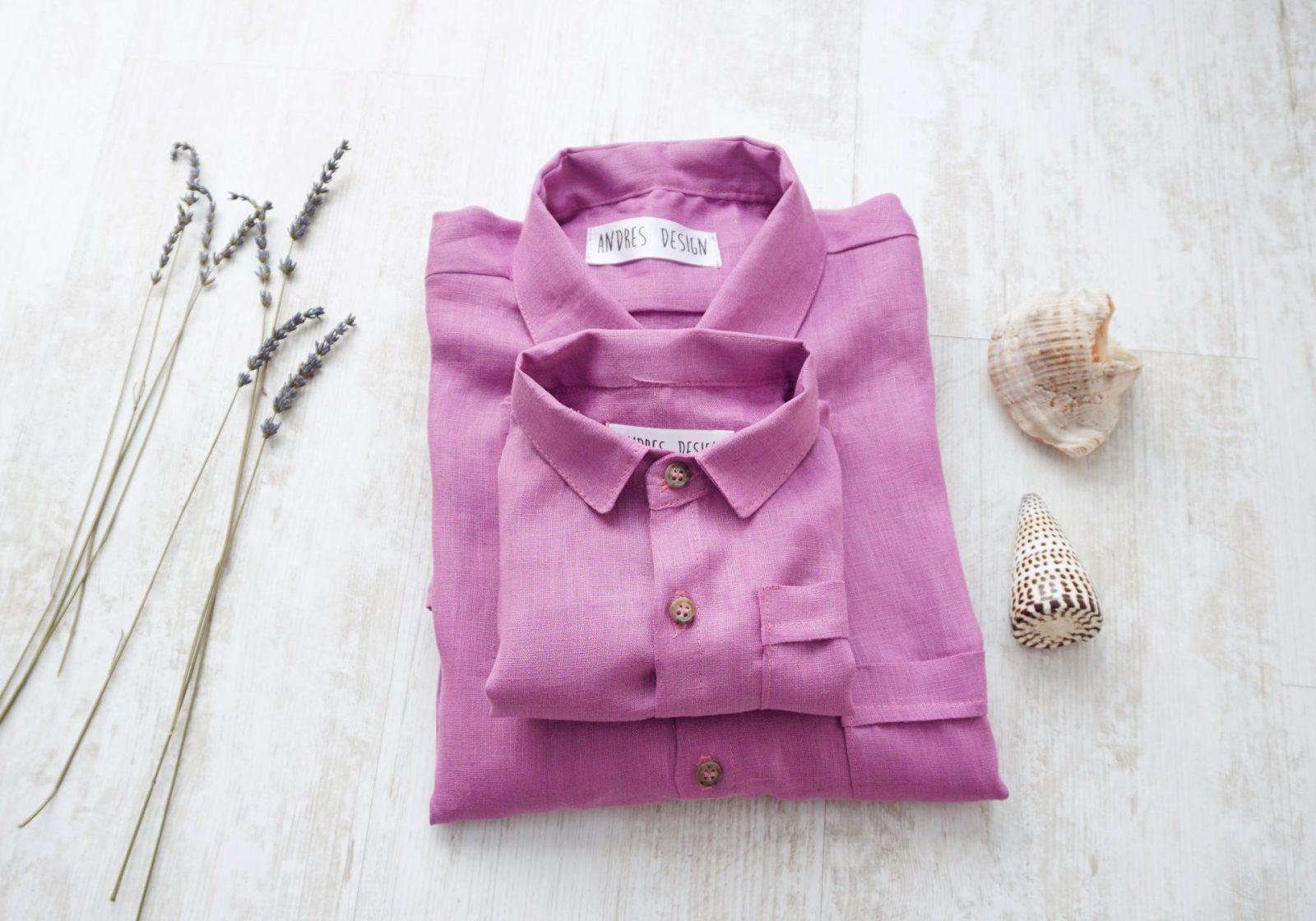 Camasi Tata Fiu – in violet