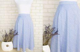 Fusta Clos In – dungi alb bleu