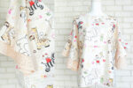 Bluza Lejera Volane – print desene