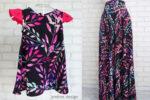 Fusta Lunga Mama si Rochita Fetite – frunze colorate