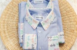 Camasi Tata Fiu Biciclete Colorate